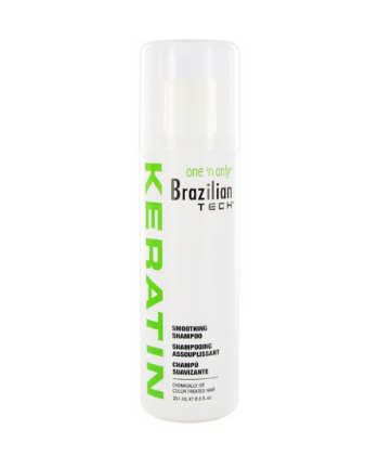 one and only brazilian tech smoothing shampoo