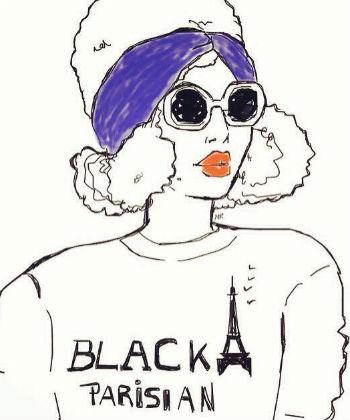 black parisian by niki's groove