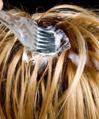 dyeing hair and hair loss