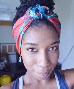 Curly Summer Series: Summer Head Wraps