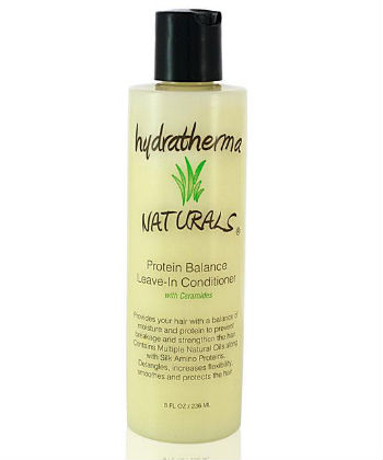 hydratherma naturals protein leave in