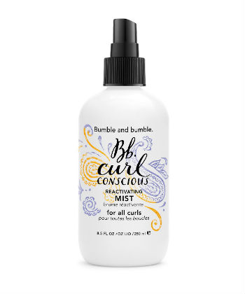 bumble and bumble curl conscious mist