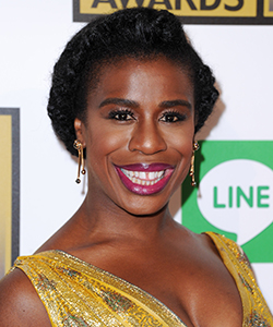 Uzo Aduba's Red Carpet Hairstyle You Can Do Yourself