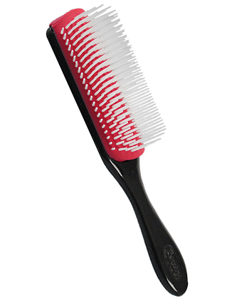 how to clean a denman brush