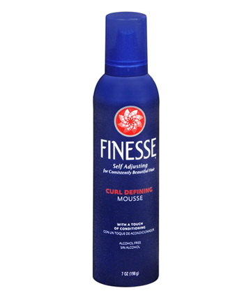 finesse curl defining mousse