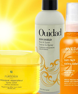 Curly Summer Series: Products with UV Protection