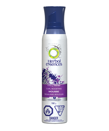 herbal essences curl boosting mousse