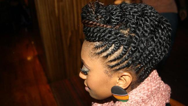 natural hair edges