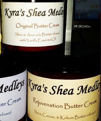 kyra's shea medley's original butter cream