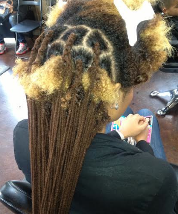 faux marley loc extensions