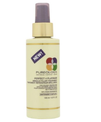 pureology miracle filler treatment blonde hair