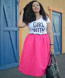 Girl with Curves' #NaturallyCurly Guru Tag