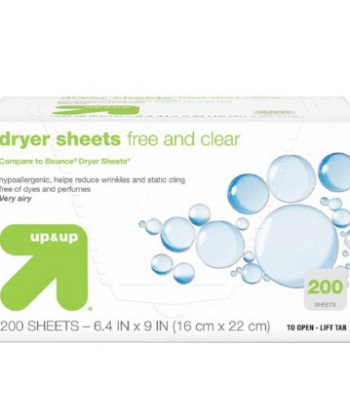 Up and Up Dryer Sheets