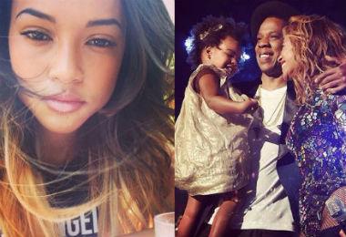 Chris Brown's Girlfriend Disses...Blue Ivy's Hair?