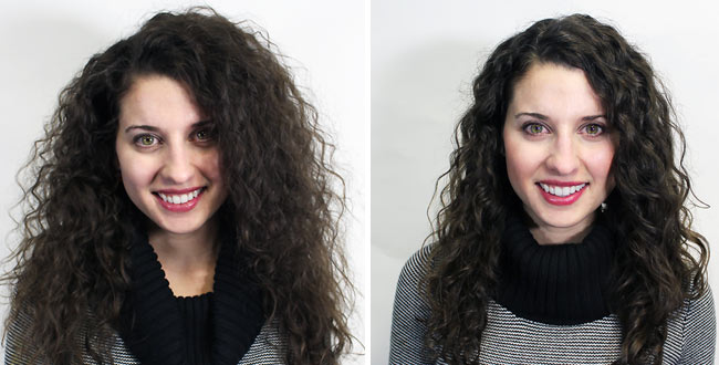 Pleasant What A Brazilian Blowout Looks Like On Curly Hair And Coily And Short Hairstyles Gunalazisus