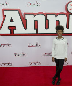'Annie' Star Continues To Break Natural Hair Barriers In Hollywood