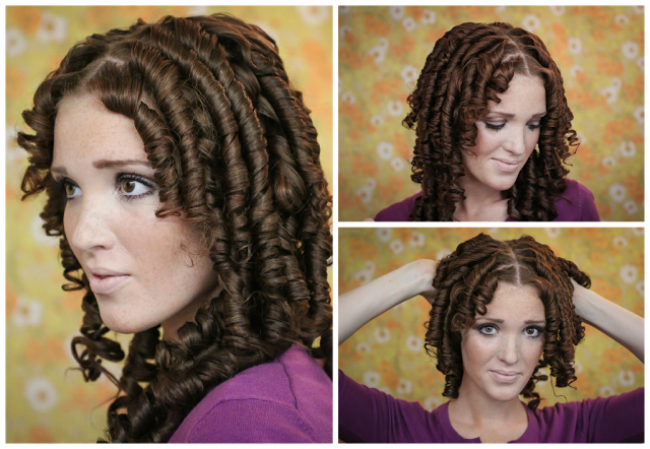 How to get ringlet curls with naturally curly hair-6571