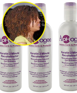 ApHogee Keratin 2 Minute Reconstructor | Curly Community Review