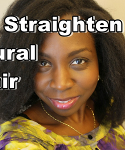 How to Straighten Your Hair with Saran Wrap