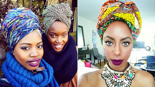 how to wrap your hair african style 45 wrap styles for the and loc d 7199 | head scarf wrap natural hair 650x365