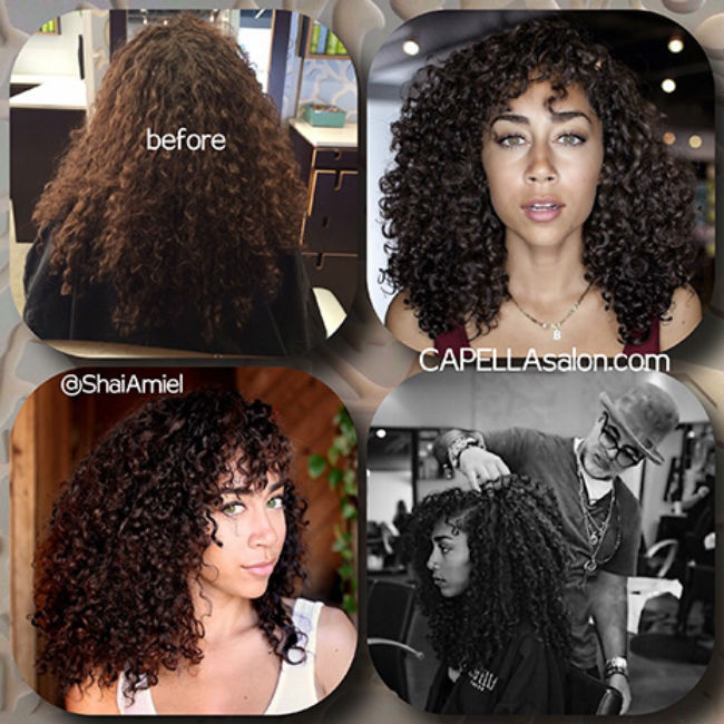 shannon boo dram before and after curl cut