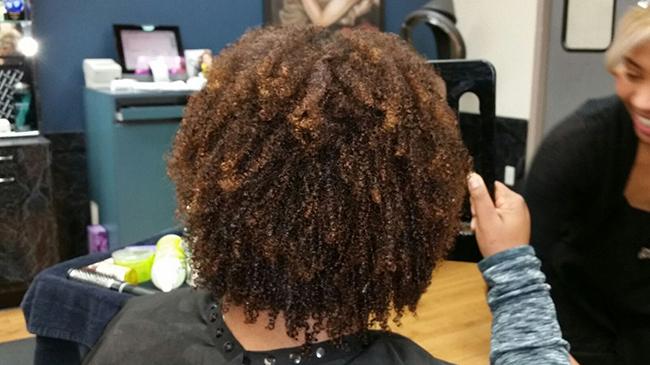 My Devacut On Kinky Type 4 Hair