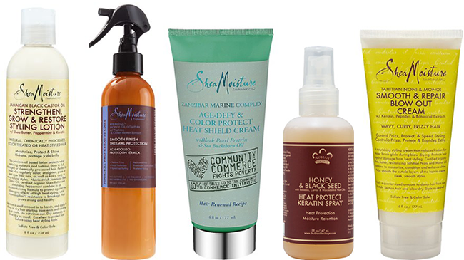 Best Heat Protectant For Natural Hair