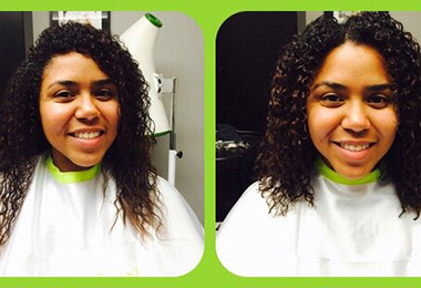 Cindy at Hairmonious in L.A.: Curly Salon Review