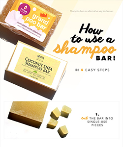 How to Use Shampoo Bars