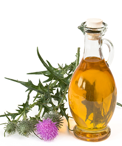 Milk Thistle Oil, Natural Sunscreen for Your Hair & Skin