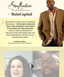 The Truth About the SheaMoisture + Bain Capital Partnership