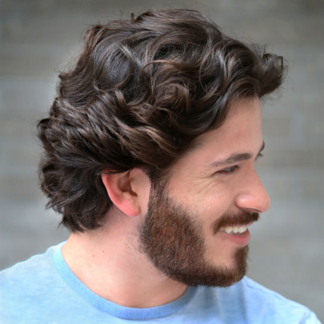2 Ways To Style Men S Curly Hair That You Haven T Heard Of