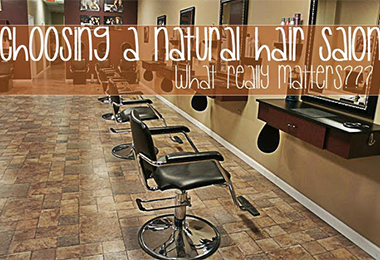 How to Find a Natural Hair Salon