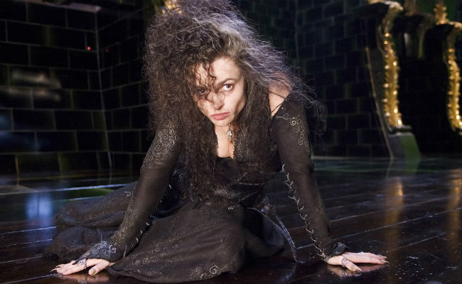 bellatrix lestrange from harry potter