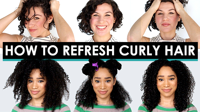 how to style second day curly hair how to style curly second day hair 4701