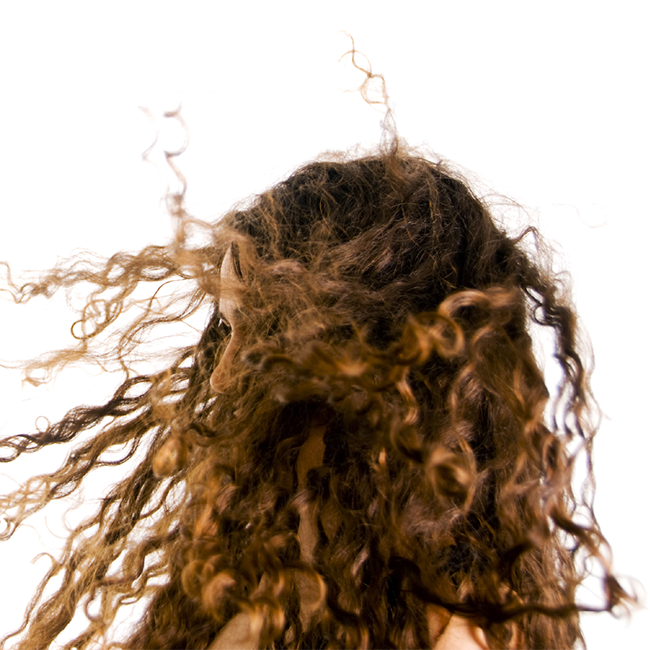 how to keep curly hair from matting