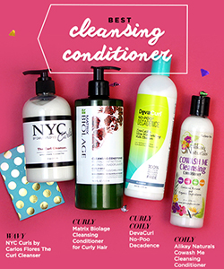 The Best Curly Cleansers & Shampoos of 2016