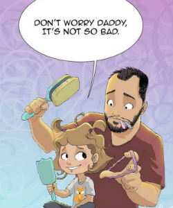 This Man Illustrates What Having a Daughter is Really Like