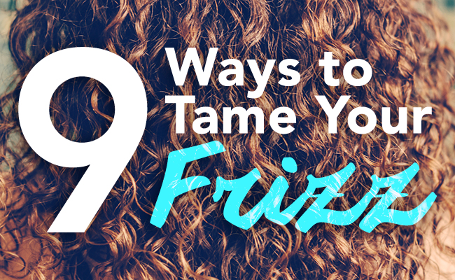how to keep your hair from getting frizzy