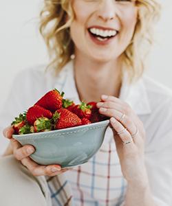 Make Your Own Moisturizing Strawberry Hair Mask