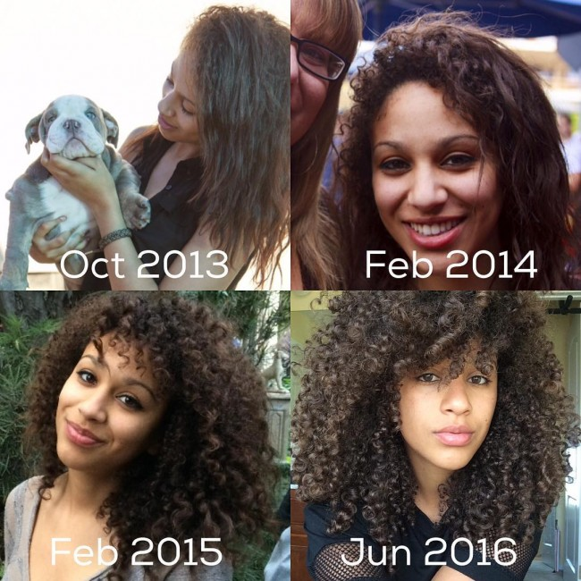 how to go from straight to curly hair