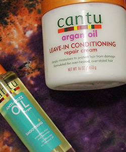 Got Dry, Dull Curls? Let Cantu Butter You Up with Shea Butter, Jojoba Oil, and Almond Oil!