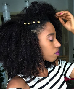 How I Refresh My Hair In Between Wash Days With Eye Catchers