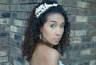 Yes, YOU Can Rock Your Curls On Your Special Day