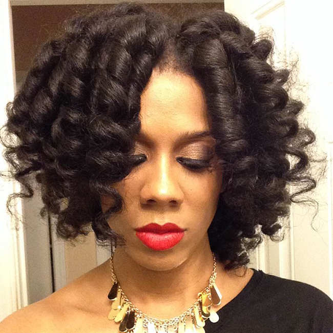 hair rollers for natural black hair