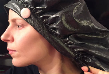 Yes, This Hair Bonnet Doubles As a Deep Conditioning Shower Cap