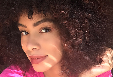 Sparkle and Shine: NaturallyCurly Editors Try the Latest Holiday Makeup Trends