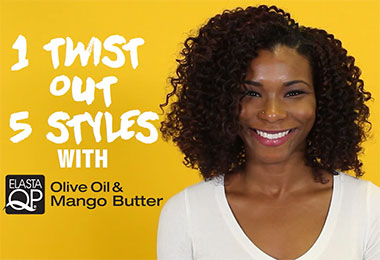 Get the Look: Turn Your Twist Out into 5 Curly Styles