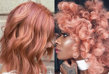 Blorange is the Biggest Hair Color Trend of 2017 (So Far)
