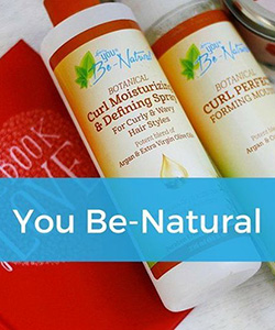 Botanical Beauty: Styling products for Tight Coils from Mother Earth and Luster's You Be-Natural